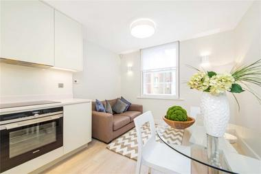 One Double Bedroom at Ossington Buildings, Marylebone, W1U, 4BS