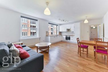 Large one bedroom apartment at Tonbridge Street, Bloomsbury, WC1H, 9PE