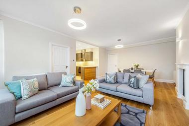 Two Double Bedrooms at Harley Street, Marylebone W1, 7HF