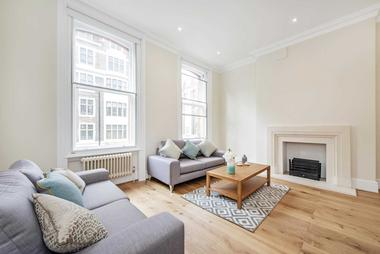 One Bedroom at Weymouth Street, Marylebone W1, 6NT