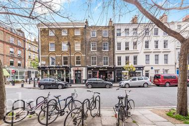 Three bedrooms at Great Ormond Street, Bloomsbury, WC1N, 3JB