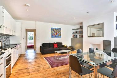 Two Double Bedrooms at North Villas, Camden,NW1, 9BJ