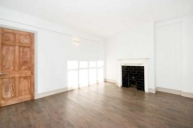 Bright reception room with ample space to dine at Moira Court, Balham, SW17, 7AH