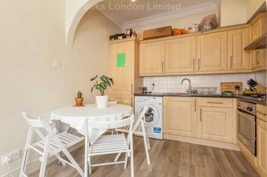 Spacious reception area at Manville Gardens, Tooting Bec, SW17, 8JP