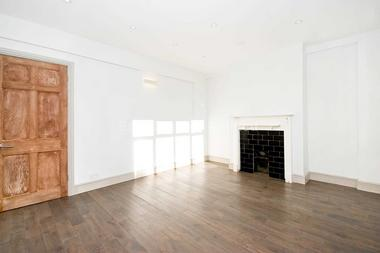 Bright reception room with ample space to dine at Balham High Road, Tooting Bec, SW17, 7AH